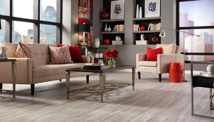 PVC石塑地板的最佳抗菌性能...