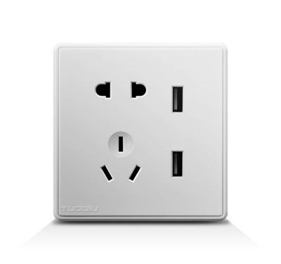 USB带二三插