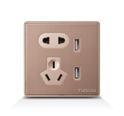 双USB带二三极插