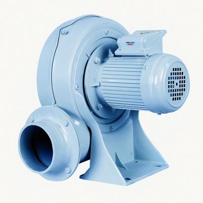 直叶式低压风机0.75Kw直叶式鼓风机PF125-1宏风鼓风机