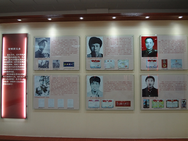 中华英模展厅展版