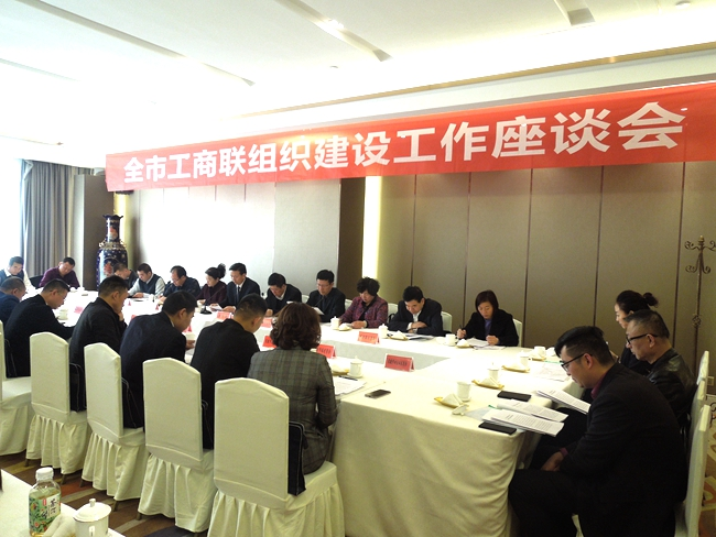 全市组织建设工作座谈会
