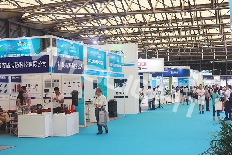 車載條形屏-上海國際客車展