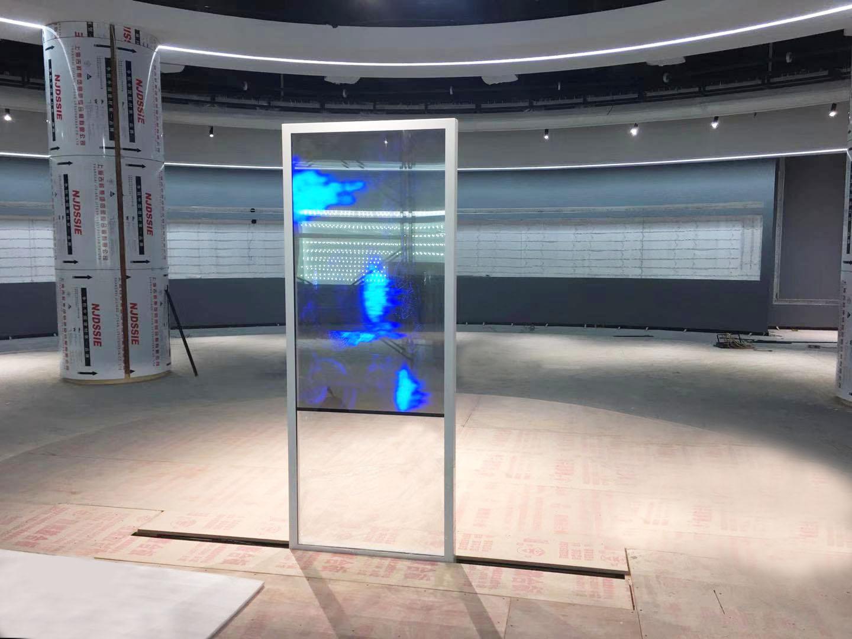 【九山电子】-智能滑轨+透明OLED显示方案