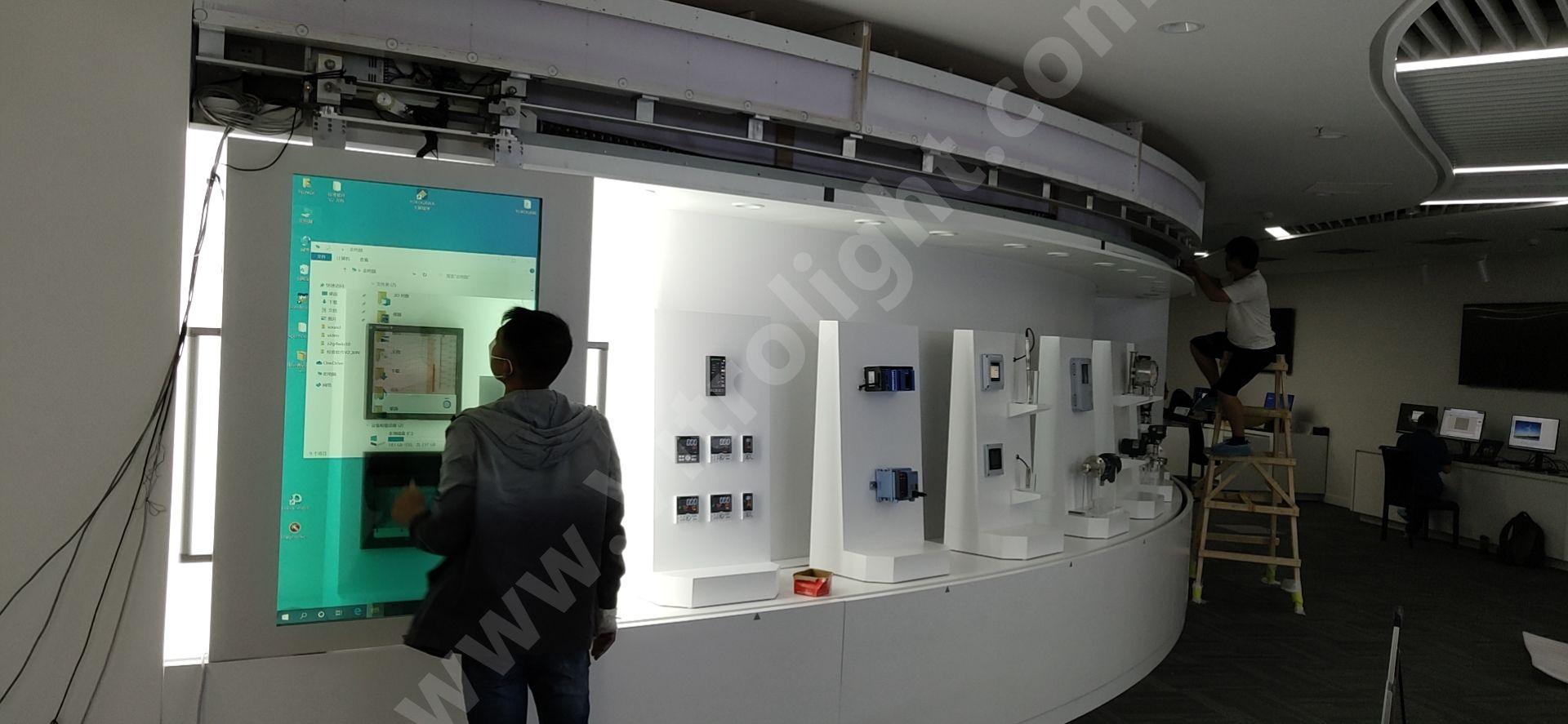 移動彎軌透明OLED-蘇州橫河電機