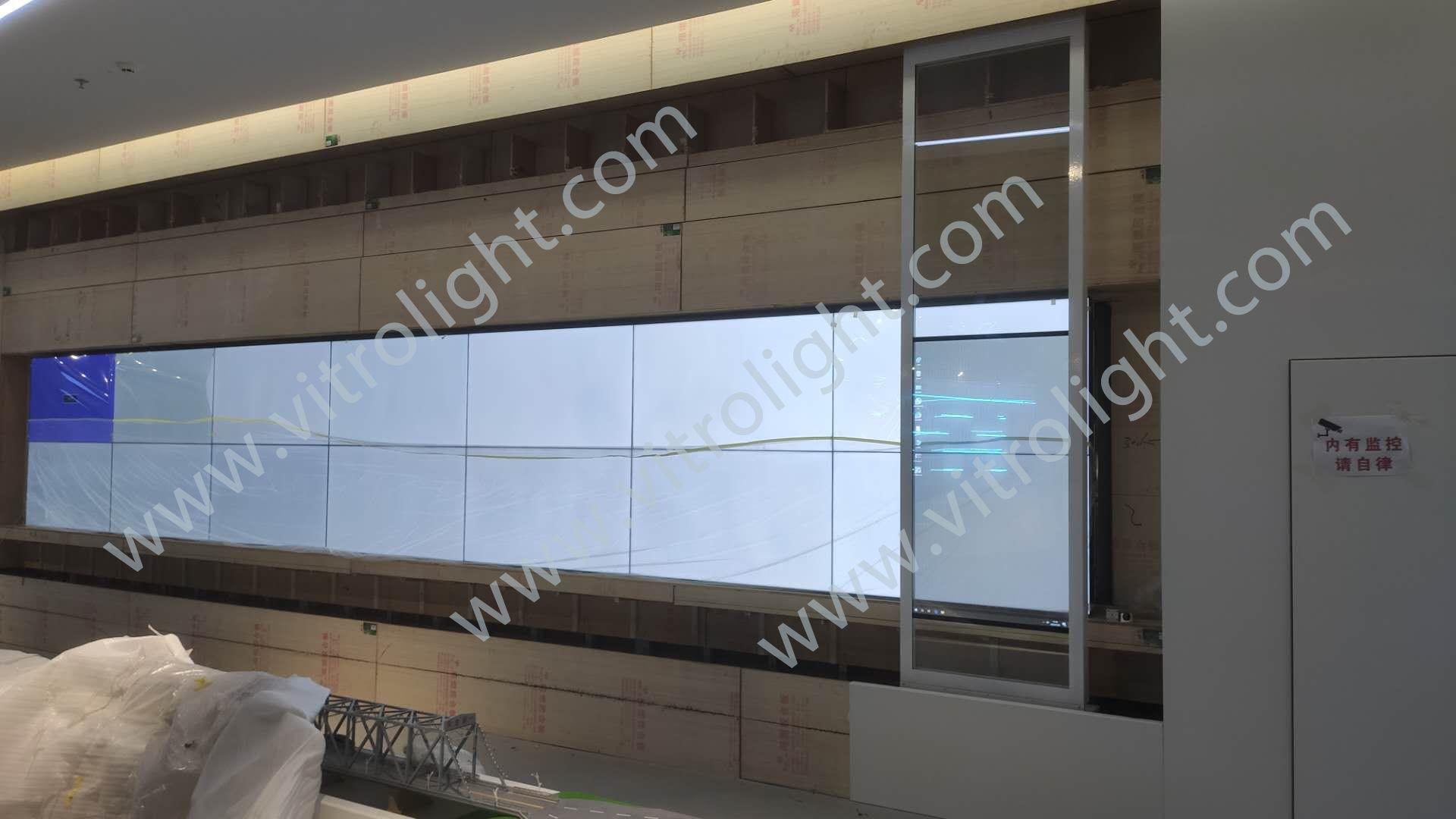 透明OLED-山東濱州科學院觸摸透明oled 滑軌項目