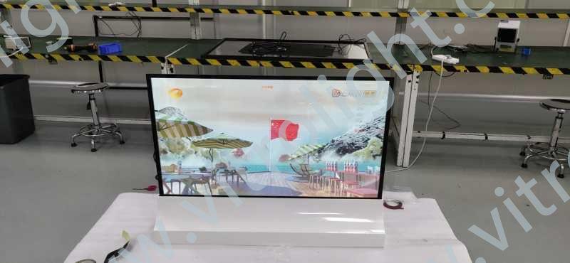 透明OLED-山東濱州科學院觸摸一體機項目