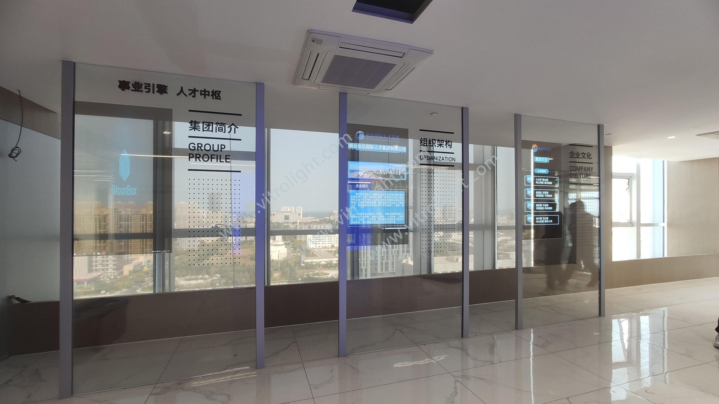 透明OLED-山東煙臺市自貿區國際人才港55寸透明OLED項目