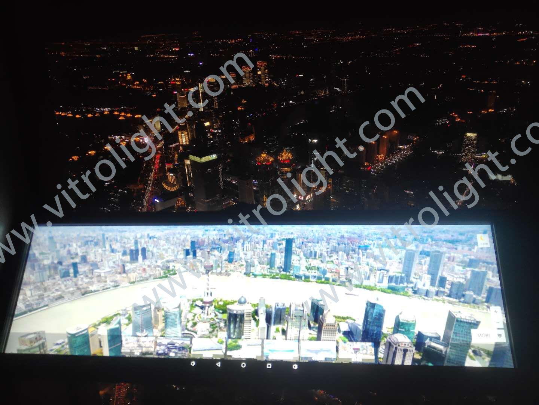 上海環球中心38寸條屏