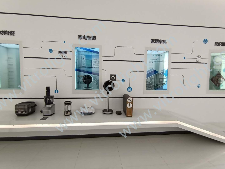 透明屏-廣州佛山城市展覽館