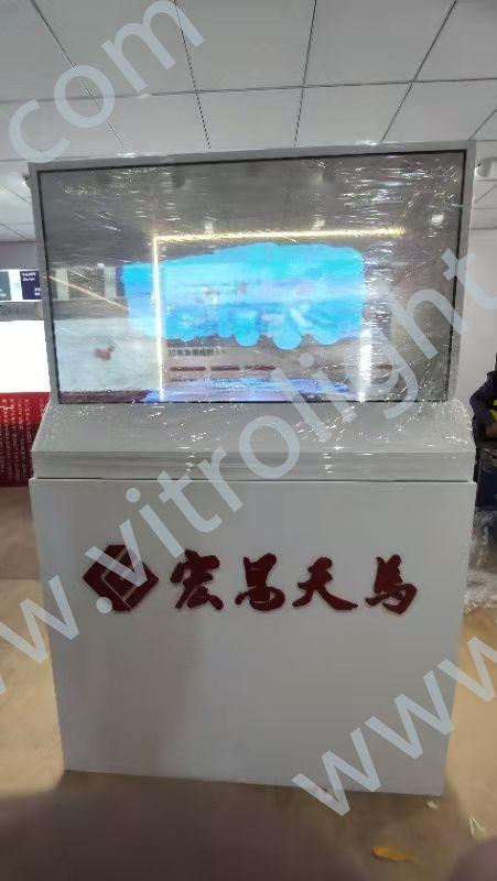 透明OLED-上海寶馬展