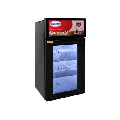 21.5寸透明液晶冷柜