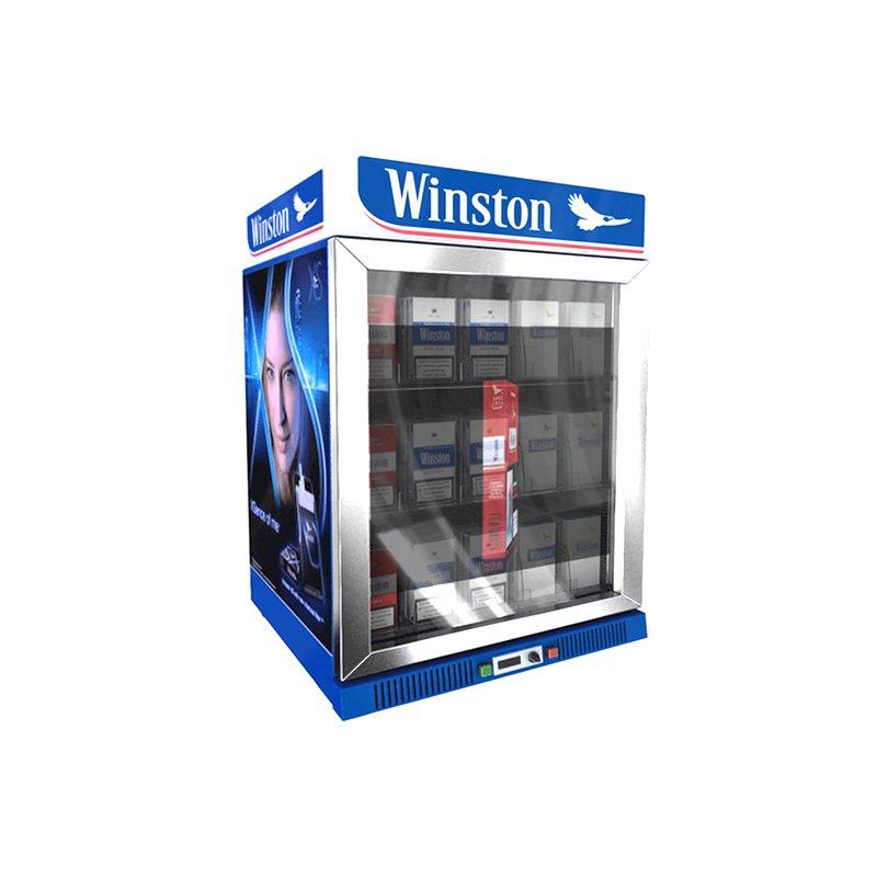 24寸透明液晶冷柜