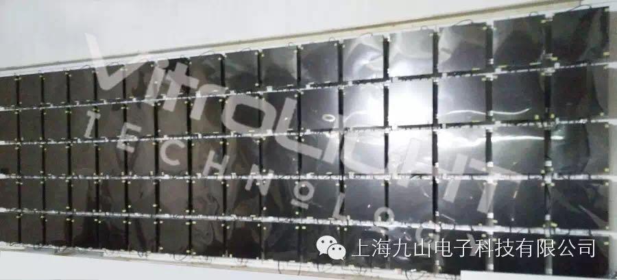 方形拼接墙--长沙某展馆16*5拼接案例