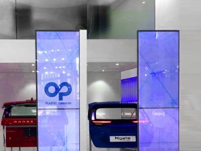 透明 OLED 應用于車展