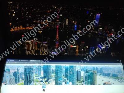上海环球中心38寸条屏