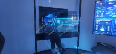 中移(苏州)软件技术有限公司安装55寸透明OLED项目