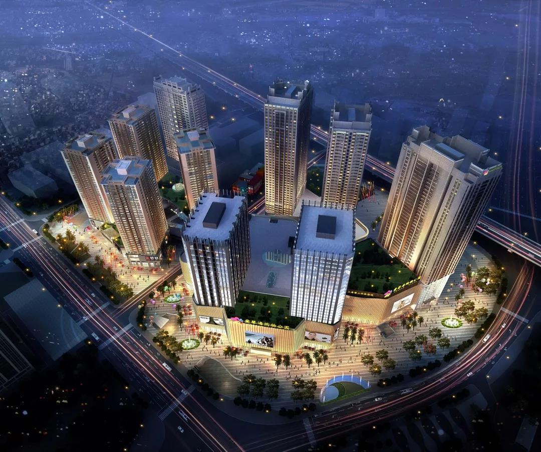 春城筑起80万方综合体,蒂森克虏伯电梯与您倾情相约瑞鼎城