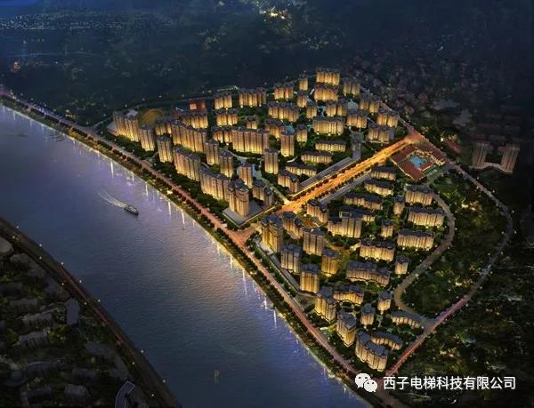 西子电梯科技入驻中梁·潮音岛铂金华城