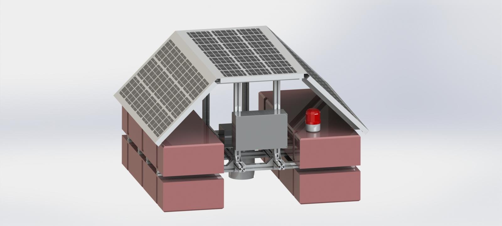 智能浮岛式水质监测站产品正式...