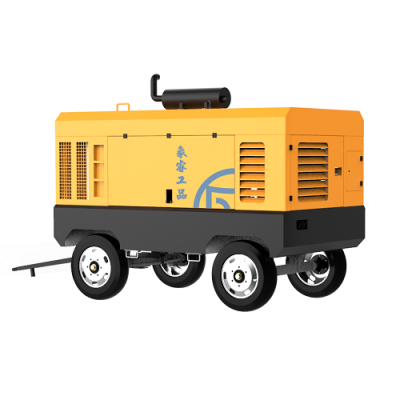 DIESEL MOBILE SCREW COMPRESSOR