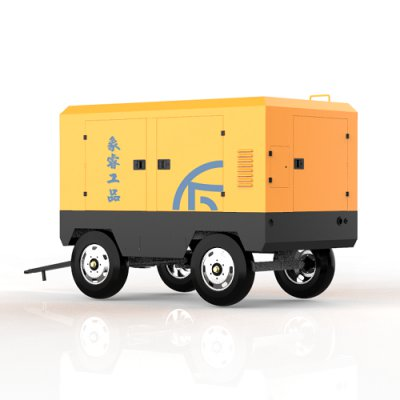 ELECTRIC MOBILE SCREW COMPRESSOR