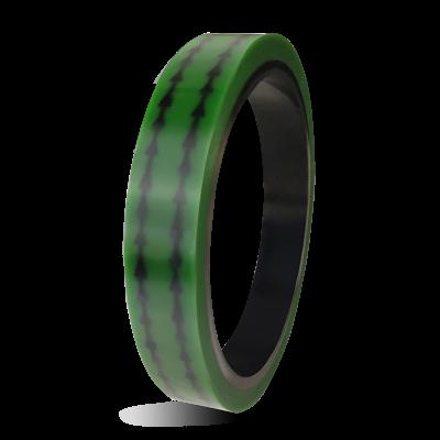 E1-TH863G绿色带箭头PET防静电高温胶带