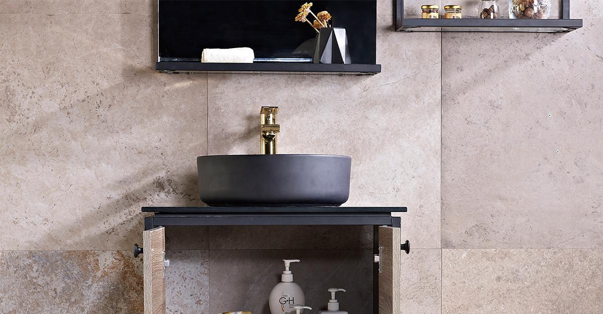 生活质量上升,巧妙利用浴室瓷砖搭配