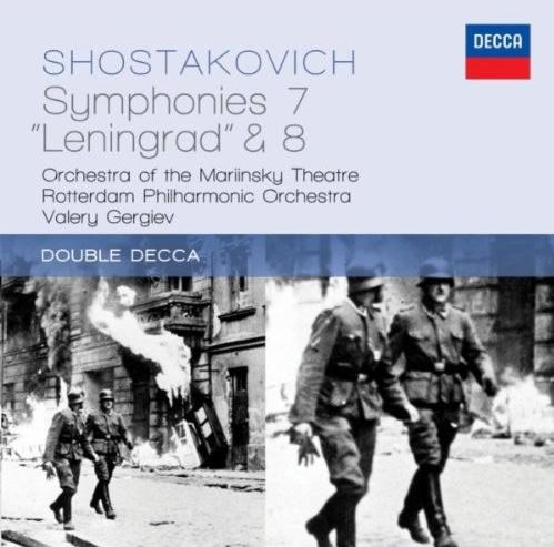 肖斯塔科维奇第七、八交响曲