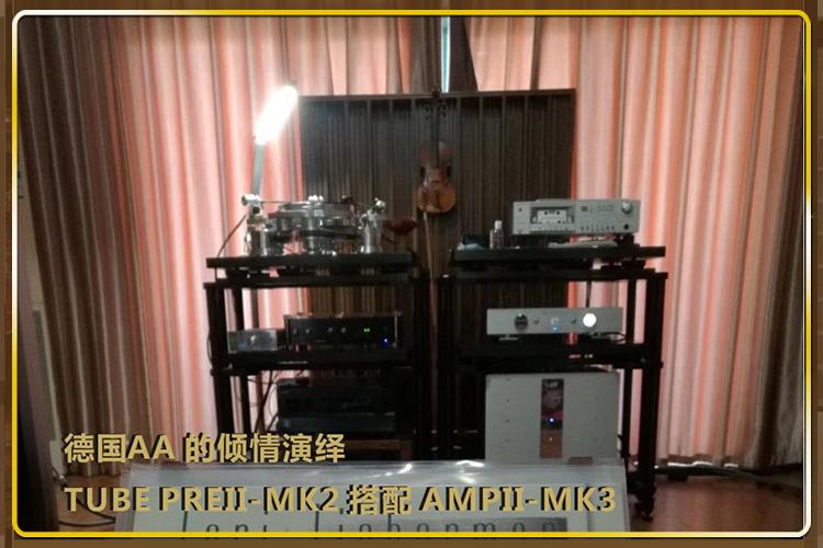 德国AA TUBE PREII-MK2 搭配 AMPII-MK3