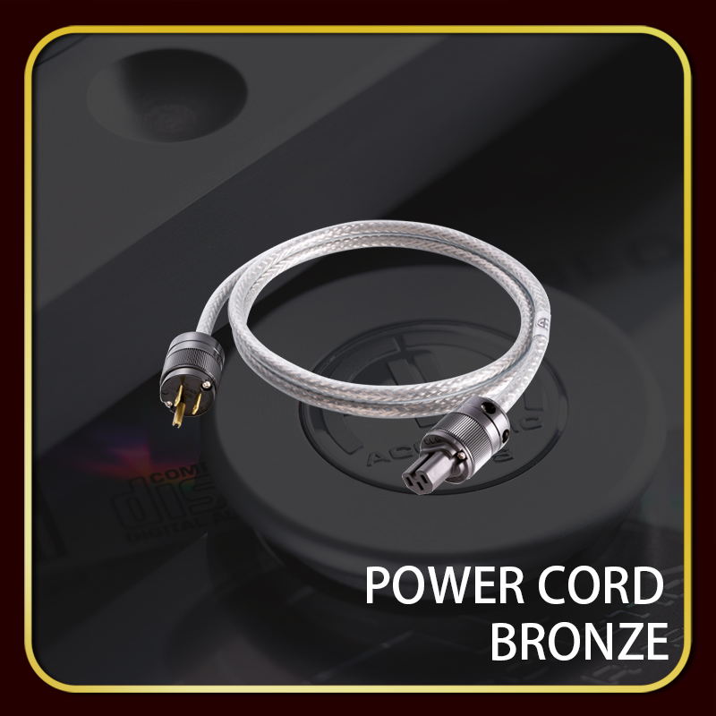 POWER CORD BRONZE