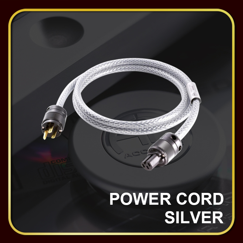POWER CORD SILVER