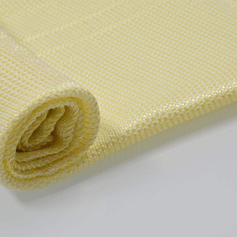 芳纶针织防火防割布 雨琪5级防割布窗帘防火牛津布厂家直销