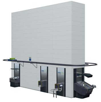 Kardex垂直緩沖式倉儲系統