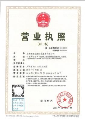 上海组缋金融信息服务有限公司