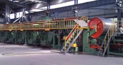 彩色涂層板連續生產機組電氣傳動控制系統