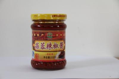 蒜蓉辣椒酱 220g
