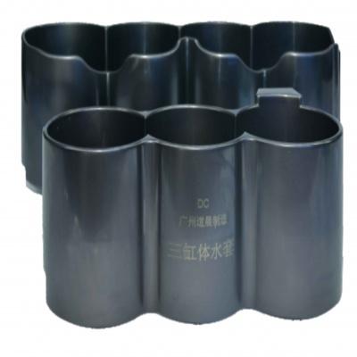 德系三缸四缸复合表面处理水套