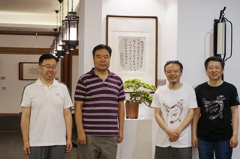 熊晋参加山西书画名家太山回顾展