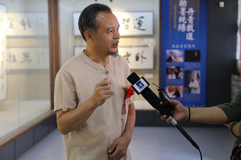 熊晋策划三晋书画名家系列展在山西省艺术博物馆(太原纯阳宫)开幕