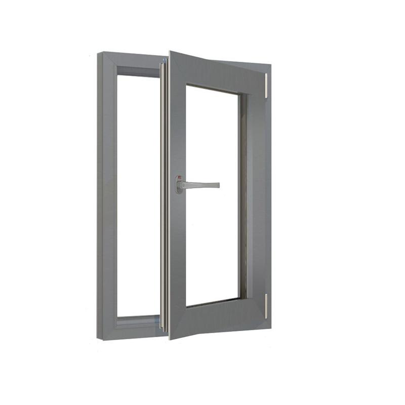 上海70断桥铝铝合金门窗封阳台 内开内倒窗户凤铝 98型窗纱一体窗