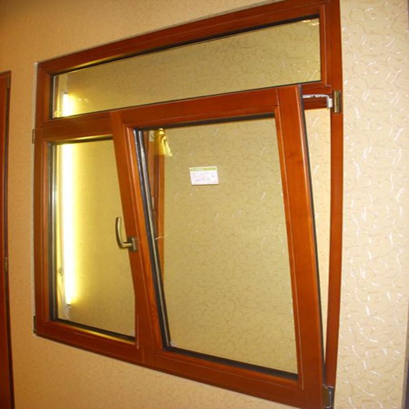 欧式铝包木门窗北京厂家直销 铝木复合窗隔音窗别墅木包铝封阳台