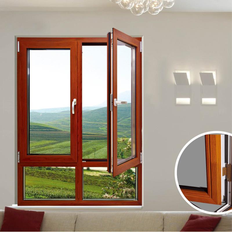铝合金门窗窗纱50系列平开窗