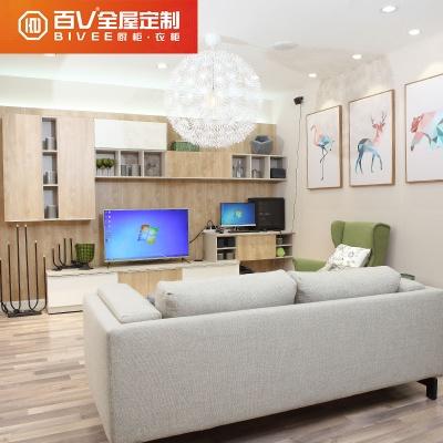 成都百V客餐厅 成套家具定制 电视柜沙发 收纳柜定制