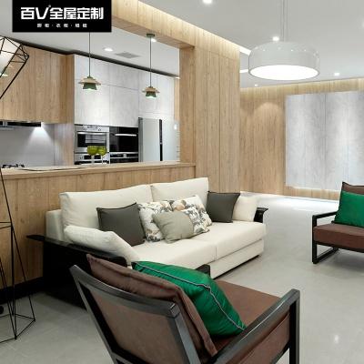 布鲁克林 成都百V 全屋定制  客厅 厨房 卧室 浴室
