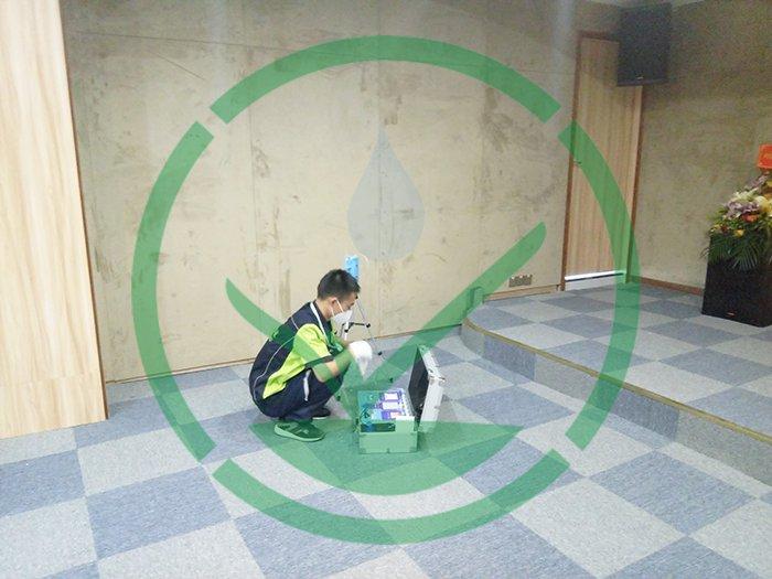 天安节能科技园办公室除甲醛案例