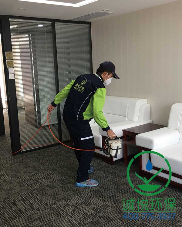 广东海石知识产权服务有限公司办公室除甲醛案例