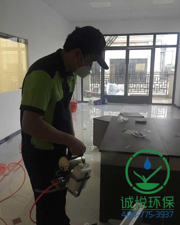 广东新拓展建筑工程有限公司办公室除甲醛案例