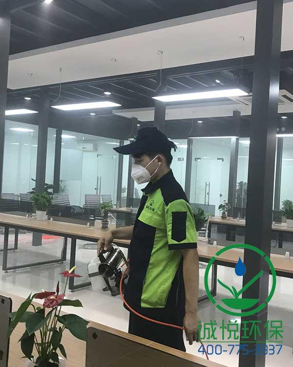广州旺华投资咨询有限公司办公室除甲醛案例