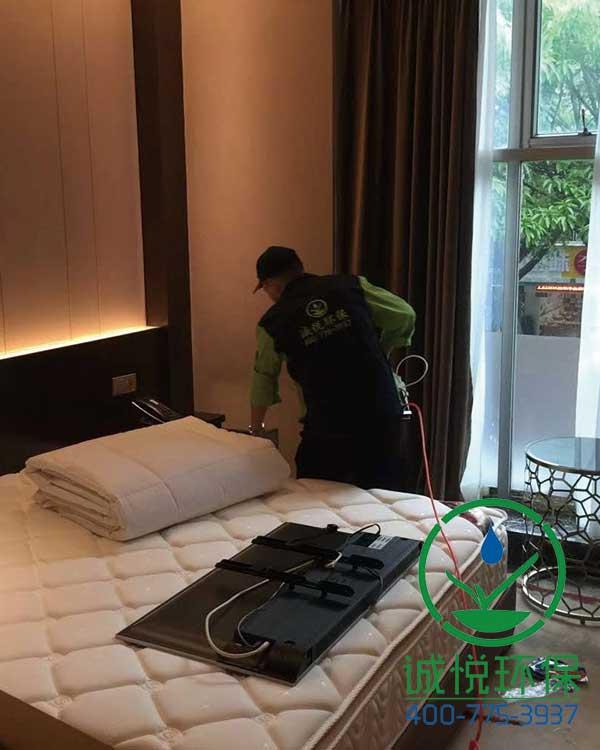 广州嘉福利晶酒店装修除甲醛案例